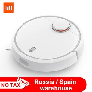 Original Xiaomi MI Robot Vacuum Cleaner MI Robotic Smart Planned Type WIFI App Control Auto Charge LDS Scan Mapping(China)