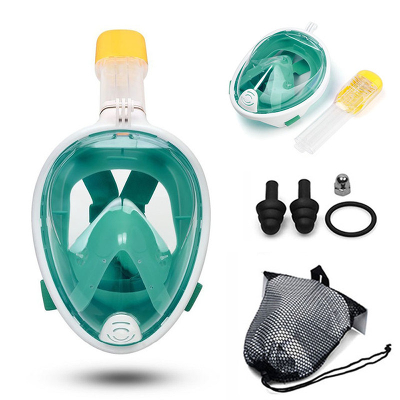 Diving Mask Swimming Scuba Mask Underwater Anti Fog Full Face Snorkeling Mask Women Men Kids Snorkel Diving Equipment