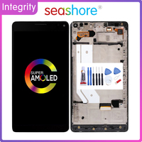 ORIGINAL For NOKIA Microsoft Lumia 950 XL LCD Touch Screen Digitizer Assembly For Nokia 950xl Display +Frame Replacement RM 1116