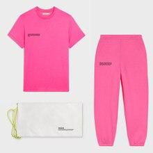 Camisetas manga corta Camisetas para mujer con cuello redondo tops de verano suelta pantalones chándales conjuntos de dos piezas trajes de jogging trajes