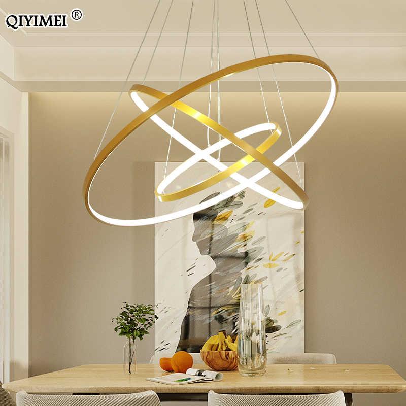 Черно-белая рамка, светодиодные подвесные светильники для кухни, столовой, современные подвесные лампы, абажур, освещение, люстры, Светильники для помещений