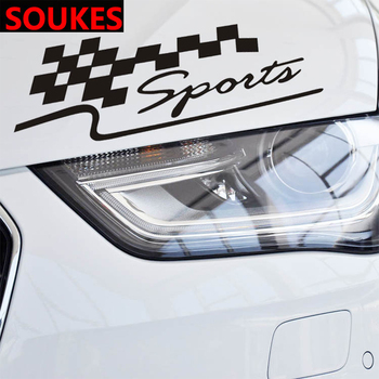 Car Body Highlight Bumper Sport Sticker For Audi A3 A4 B8 A6 Q5 C7 8v B5 Mercedes Benz W203 W204 W205 W124 W212 AMG image