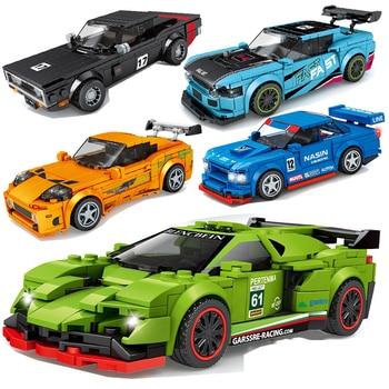 Racing Car City Speed Champions Sports Model  2