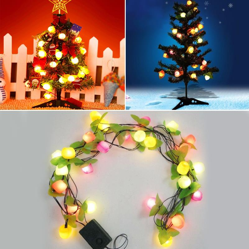 Fruit String Lights LED Light String 22W 400LM 3.6M Outdoor Christmas Outdoor Decoration Christmas