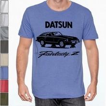 Datsun 280z fairlady z algodão macio camiseta multi cores nissan s30 240z 260z