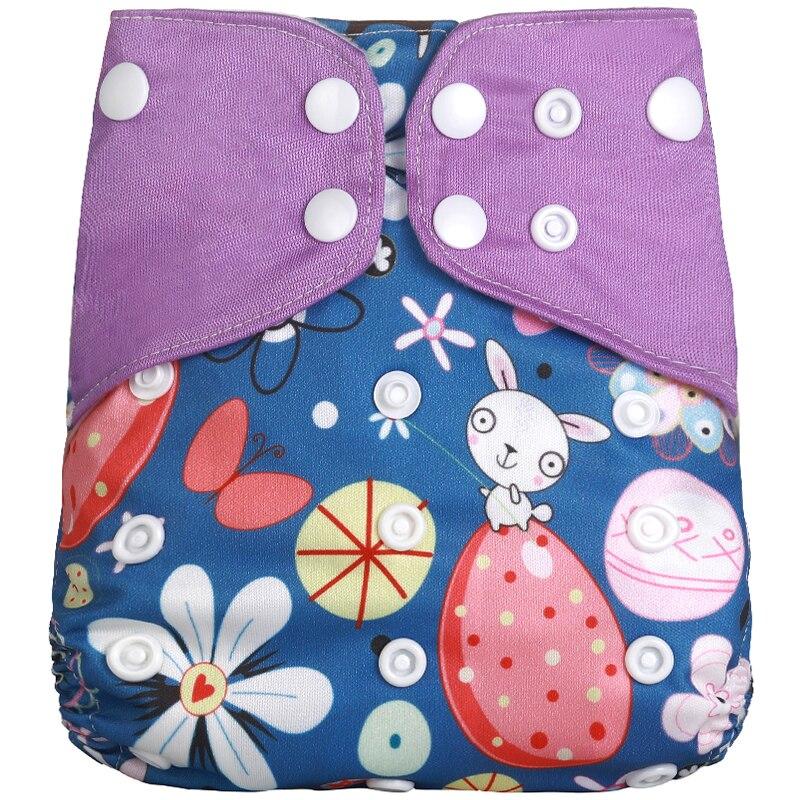 [Simfamily] 1 шт. многоразовые тканевые подгузники, регулируемые детские подгузники, моющиеся подгузники, подходят для 3-15 кг детские подгузники - Цвет: NO8
