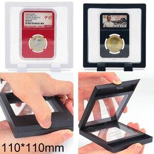 Держатель для монет с печатью банкнот, контейнер для хранения 110*110 мм, подставка для монет