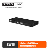 TOTOLINK SW16 Ethernet Switch Lan Hub 16 port Fast Gigabit Network Switch Duplex Exchange