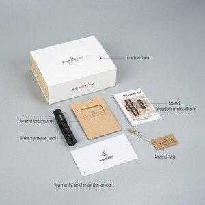 Image 5 - BOBO BIRD męskie zegarki na rękę mechanizm kwarcowy kompletny kalendarz drewniany zegarek wyświetlacz tygodnia relogio masculino w pudełku