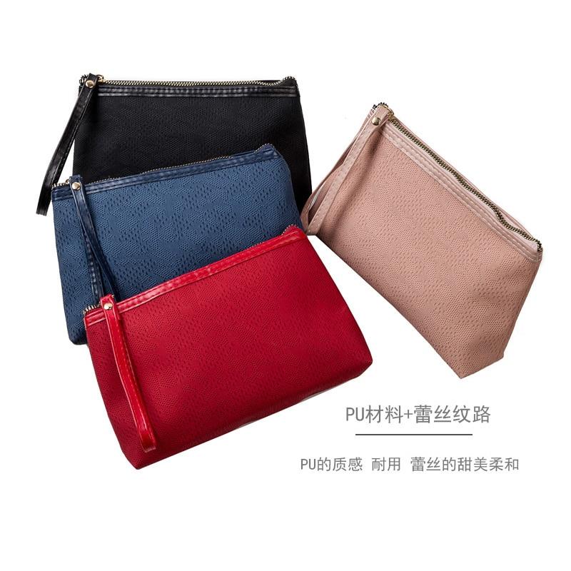 Travel Organizer Bag Cosmetic Bag Women Pouch Fashion Lady Makeup Portable  2020 New Makeup Bag PU Leather Travel Makeup