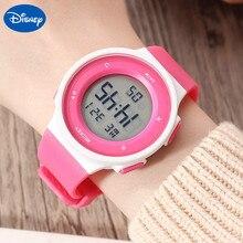 Оригинальный Disney Многофункциональный Спорт Часы Водонепроницаемый И Плавательный Электронный Часы Студент Дети Часы Дети Часы