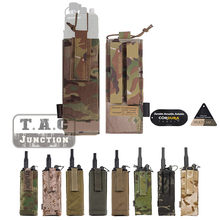 Emerson Tactical Molle Mbitr Radio Pouch Emersongear Universal Walkie Tas Talkie Pocket Jacht Combat Gear Voor Avs Jpc Vest(China)