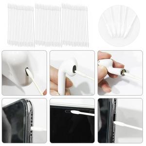 Image 5 - Vococal 5pcs מברשת ניקוי כלי + 25pcs כותנה ספוגית חד פעמי עבור Airpods pro 3 2 1 Redmi Airdots אוזניות תיבת מקרה נקי כלים