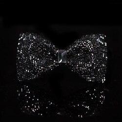 2020 hohe Qualität Männer Edle Diamant Einfarbig Designer Marke Schmetterling Bowties Romantische Hochzeit Bräutigam Fliege für Männer