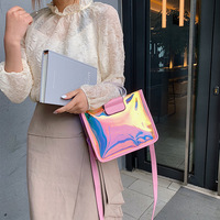Summer 2019 New Single Shoulder Oblique Hand held Small Square Bag Street Fashion Baitao Radio Bag for Mothers and Daughters