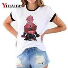 Dragon Ball Z T Shirts 3D Print Galaxy Goku Graphic Tees Womens Cartoon Short Sleeve Tops Hipster Dragonball shirt