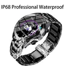 LIGE Smart Watch Men IP68 Waterproof Reloj Hombre Mode SmartWatch With ECG PPG Blood Pressure Heart Rate sports fitness watches