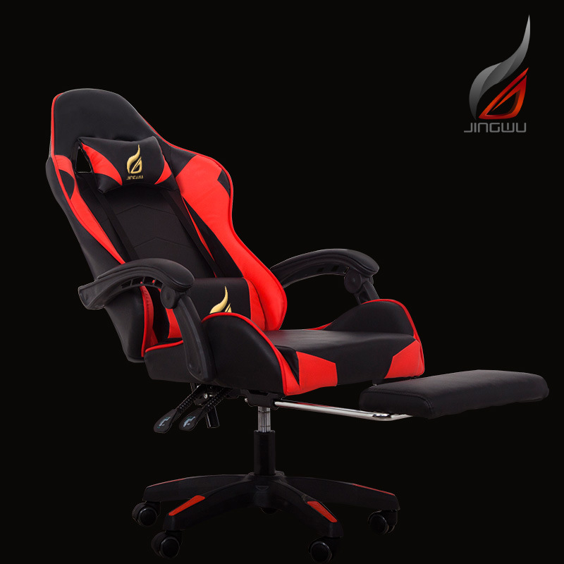 【RU Warehouse】Gaming Chair Computer Office Chair Recliner Sub-athletic Seat Of Racing Car Lift Seat Free Shipping To RU