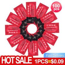 Hurtownie 100 sztuk prezerwatywy Ultra cienka duża ilość oleju Sex narzędzie produkty dla mężczyzn pakiet prezerwatywy dorosłych darmowa wysyłka