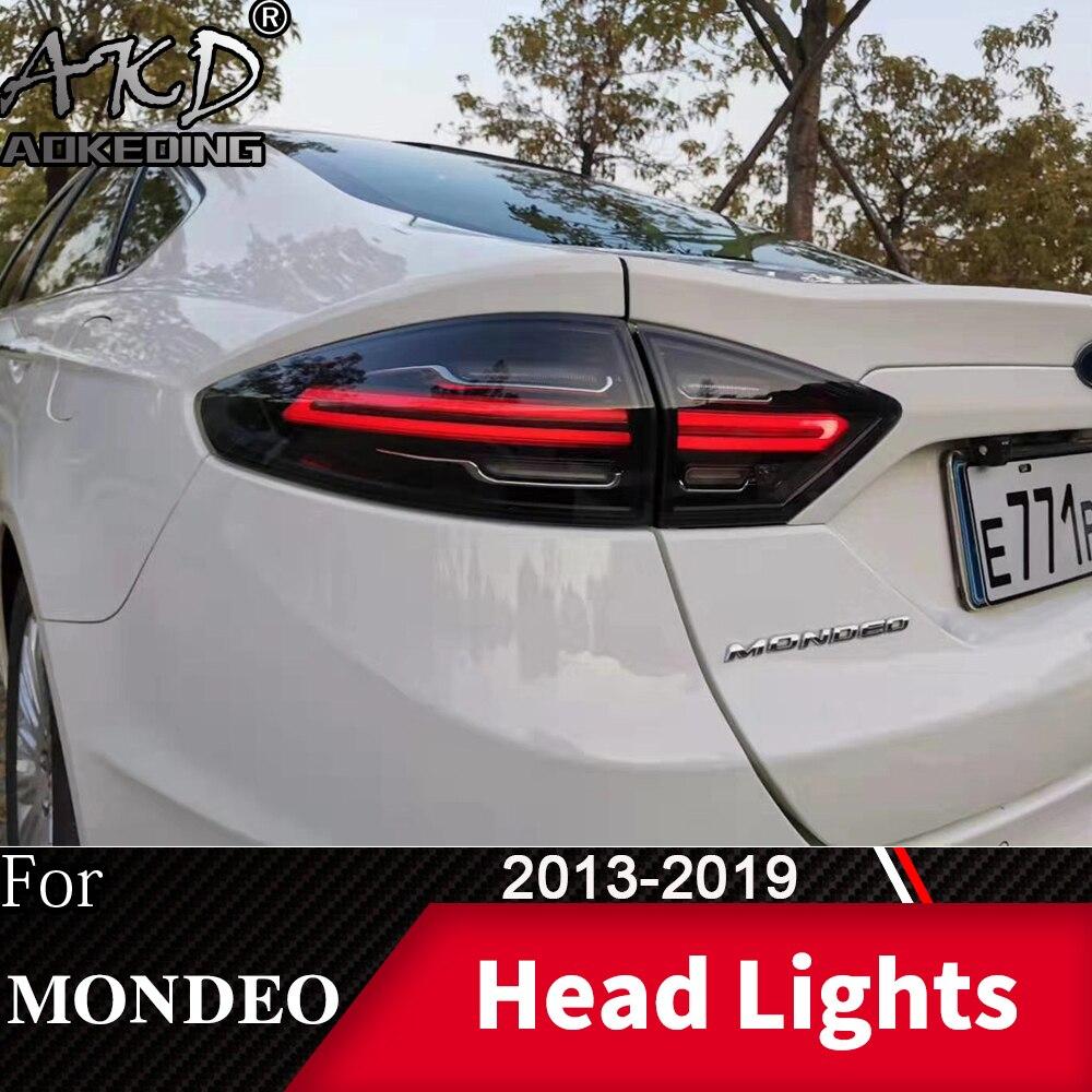Задний фонарь для автомобиля Ford Fusion 2013-2019 Mondeo светодиодный фонарь светильник s туман светильник s дневные ходовые светильник DRL автомобильно...