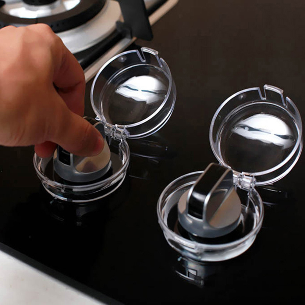 Switch-Cover Microwave Safety-Locks Gas-Stove Oven Button-Sleeve Helping-Decor High-Toughness