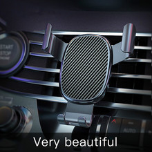 Car-Phone-Holder Fixed-Bracket Support Auto-Grip for Steady Gravity-Sensing