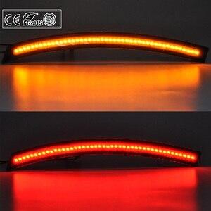 Image 5 - 4pcs Front+Rear LED side marker light SMOKE Lens Amber/Red US Version for Chevrolet Corvette C7 14 19