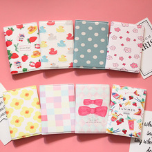 Cartoon Fruit Pattern Passport Cover Waterproof Passport Passport Clip ID Bag