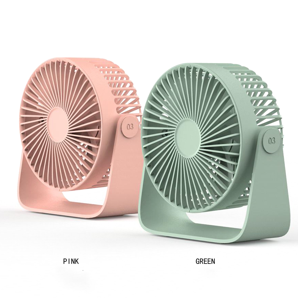 KF/_ Mini Lovely Stepless Speed USB Necklace Cooling Fan for Outdoor Travel Cam