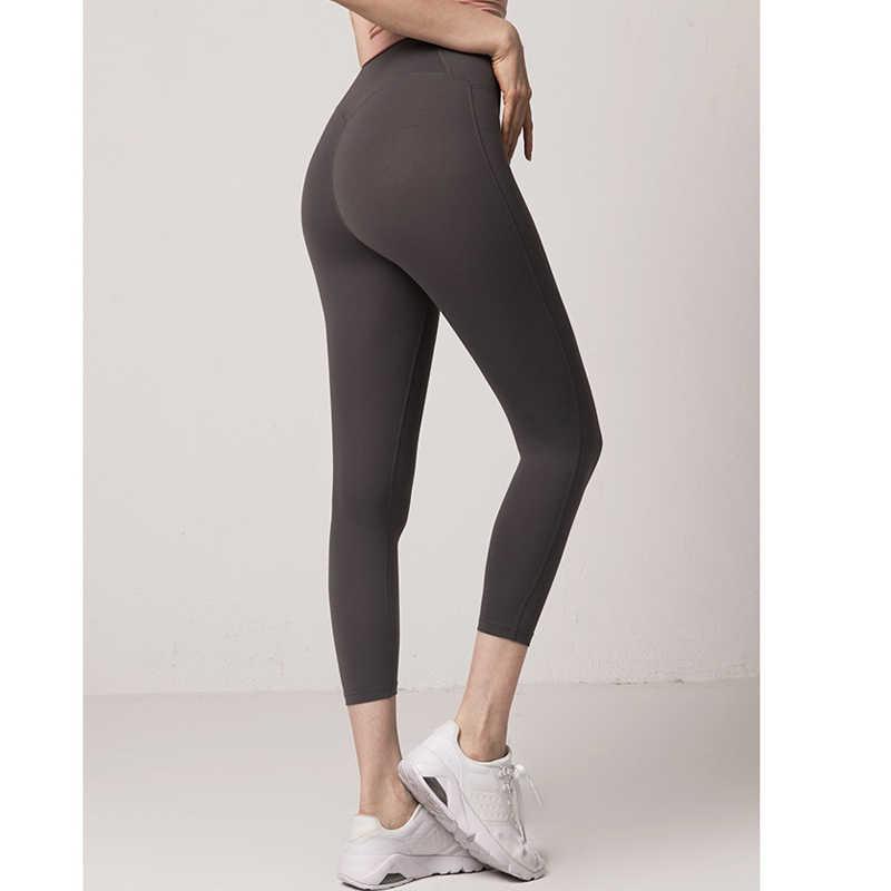 Tập Gym Thể Hình Quần Áo Tập Thể Thao, Yoga Quần Joga Quần Legging Chạy Femme Sống Còn Liền Mạch Quần Legging Nữ Lưng Cao Đẩy Lên