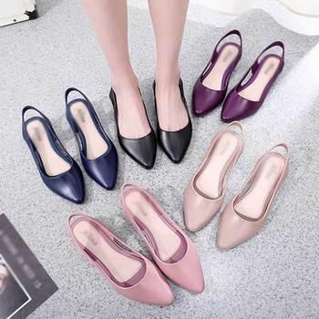 цена 2020 Spring Women shoes apricot Pumps Pointed toe High Heels Comfort Slip On Female Wedge Shoes Black Pink Casual Ladies Shoes онлайн в 2017 году