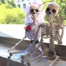 Halloween Human Doll Skeleton Poseable Joints Small Full Body Bones Model Party Decoration