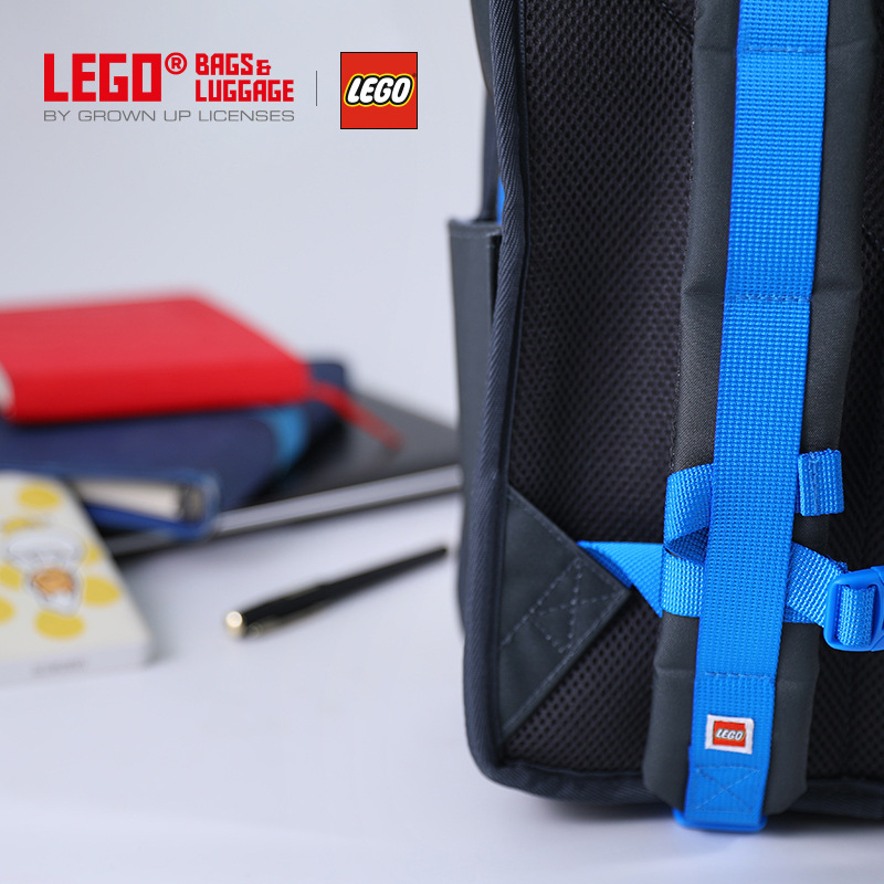 Lego LEGO Backpack New Style Trend Leisure Bag GIRL'S And BOY'S School Bag Light Burden Relieving 20128
