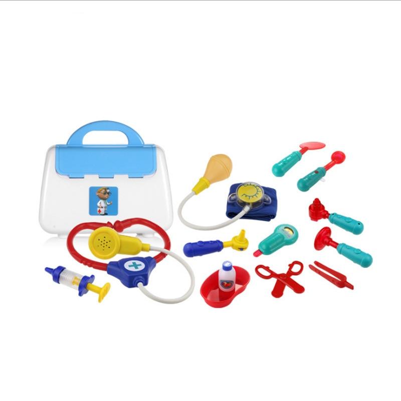 Enfants docteur ensemble de jouets personnage jouer jouet echomètre docteur ensemble jouet article docteur jouer maison