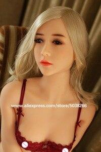 Image 2 - 170cm Silicone réaliste poupées de sexe Tpe réaliste amour réel poupée de sexe porno grand sein Oral Anal vagin squelette jouets pour adultes
