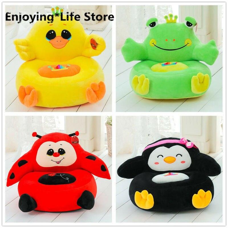 Animal Stuffed Plush Cartoon Bean Sofa Chair/Child Seat/Kids Baby Soft Toy Gift Furniture Chair Kids Sofa Toddler Chair