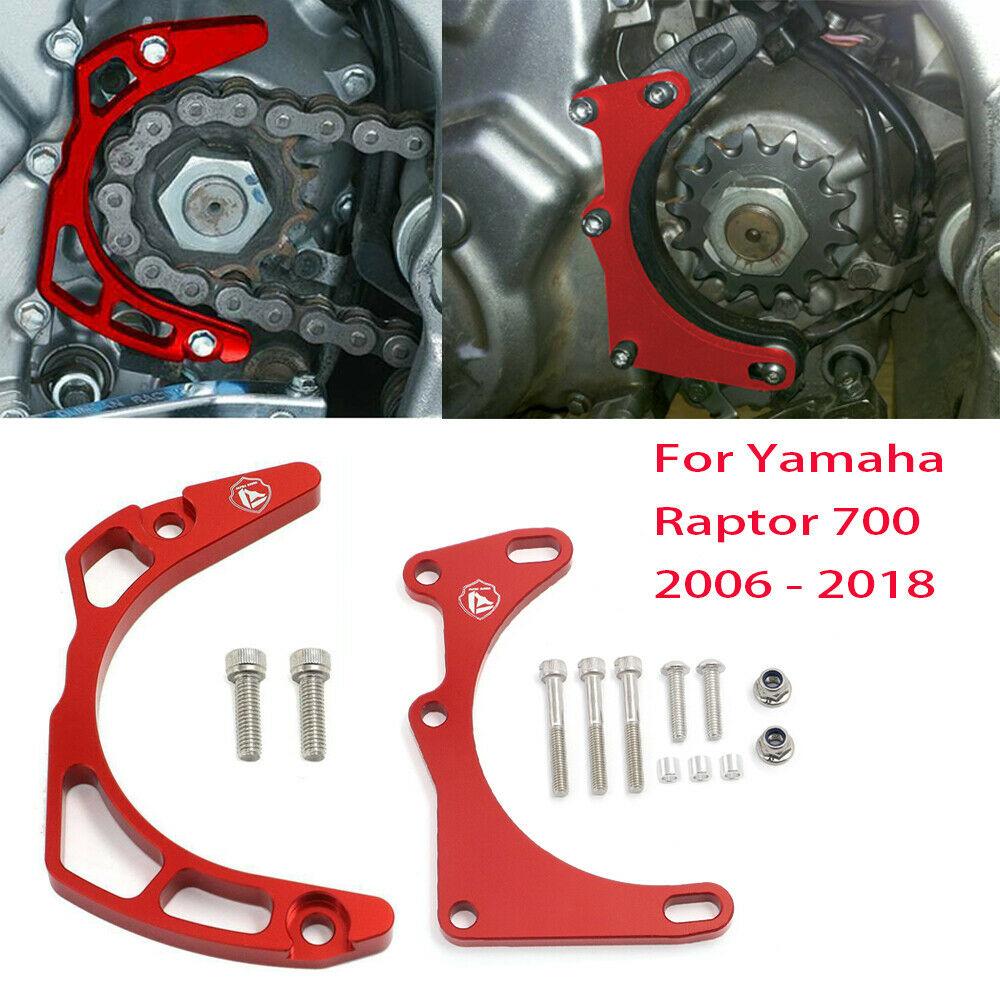 Billet Aluminum Case Saver + Guard Cover Protector For Yamaha Raptor 700 YFM700 2006 - 2017 / Raptor 700R YFM700R 2009 - 2017