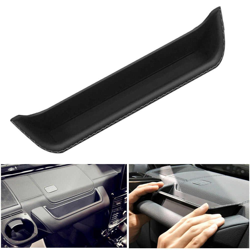 Auto Auto Scatola di Immagazzinaggio Lato Destro Nero Vassoio Per Mercedes Benz G Class W463 Organizer Accessori Interni Holder Bin