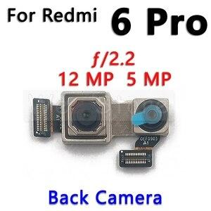 Image 3 - קטן מול & עיקרי גדול חזור אחורי מצלמה להגמיש כבלים עבור Xiaomi Redmi הערה 6 6A 7 7A פרו בתוספת מצלמה להגמיש