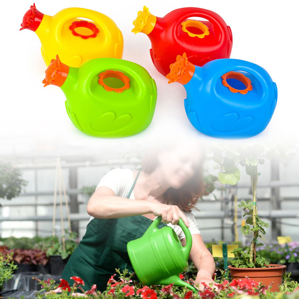 Children Gift Watering Can Toy Practical Funny Portable Bathroom Beach Bath Educational Cute Cartoon Play Sprinkler Non Toxic