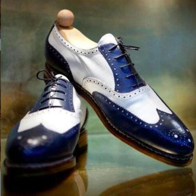 Men Leather Shoes Low Heel Casual Shoes Dress Shoes Brogue Shoes Spring Ankle Boots Vintage Classic Male Casual PS519