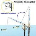 Умная Kingfisher 2 1 м/2 7 м Автоматическая Удочка для ловли приманки  кусающая приманку  запустит удочку  чтобы зацепить рыбу  автоматически ловушк...