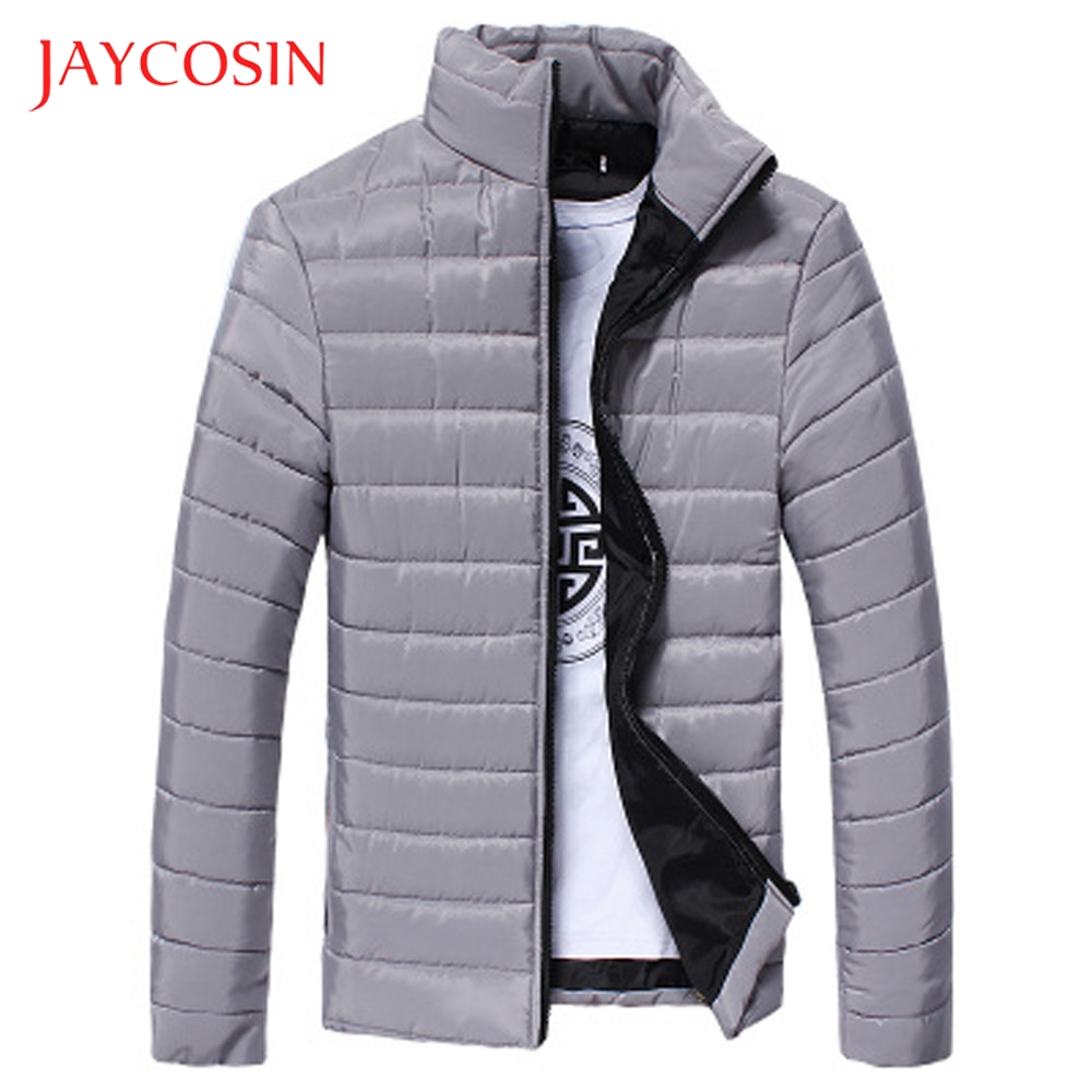 Winter Jacket Zip-Coat Fashion High-Quality Slim And Collar JAYCOSIN Outwear Daily-Wearing