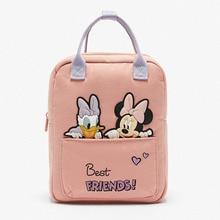 Children's Backpack Bag School-Bag Mouse-Pattern Girl Mickey Disney Boys Cartoons New