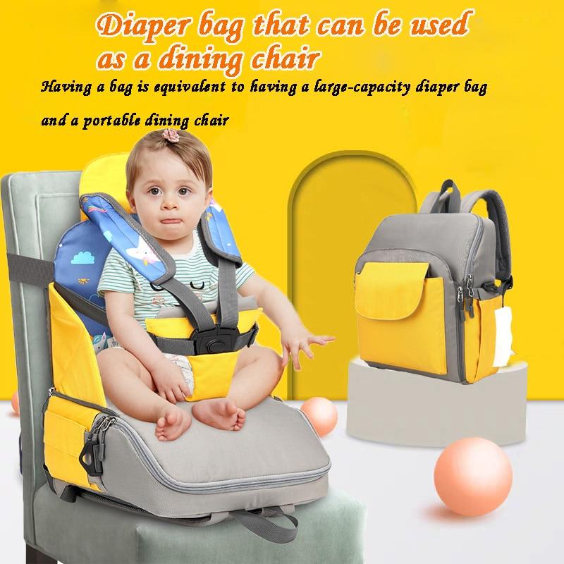 Dining Chair Bag Diaper Bag Backpack For Mom  Bolsillos Organizadores Para Bebes  Cadeirinhas Para Bebe Carro Large Travel Bag