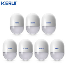 7pcs/lot Intelligent Wireless High Quality PIR Motion Sensor Anti tamper Detector For GSM Home Security  Alarm System