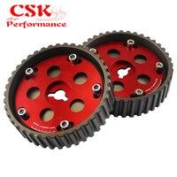 Engrenagens ajustáveis da came & polia rápida da came para suzuki swift gti g13b vermelho/preto/azul|cam gears -