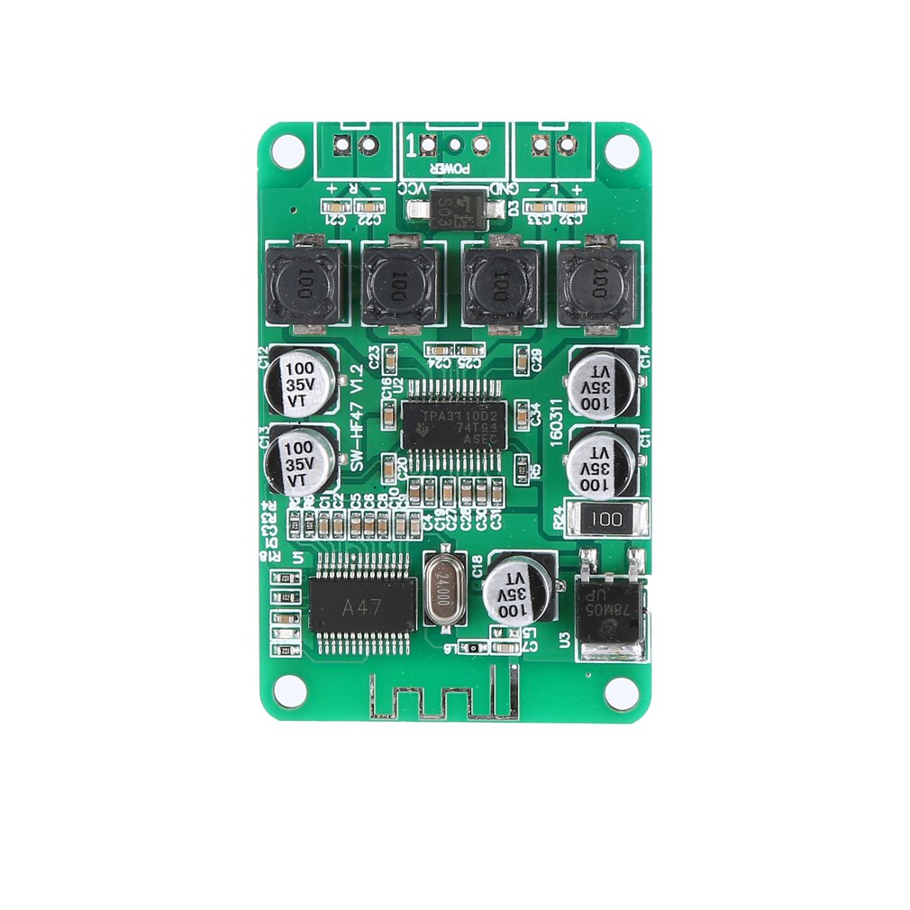 Digital Power Amplifier Board Speaker Background Music Dedicated Power Amplifier Board 2X15W Hf47