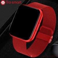 Neue Smart Uhr Männer Frauen Smartwatch Elektronik Smart Uhr Für Android IOS Fitness Tracker Sport Smart-uhr Trosmart Marke