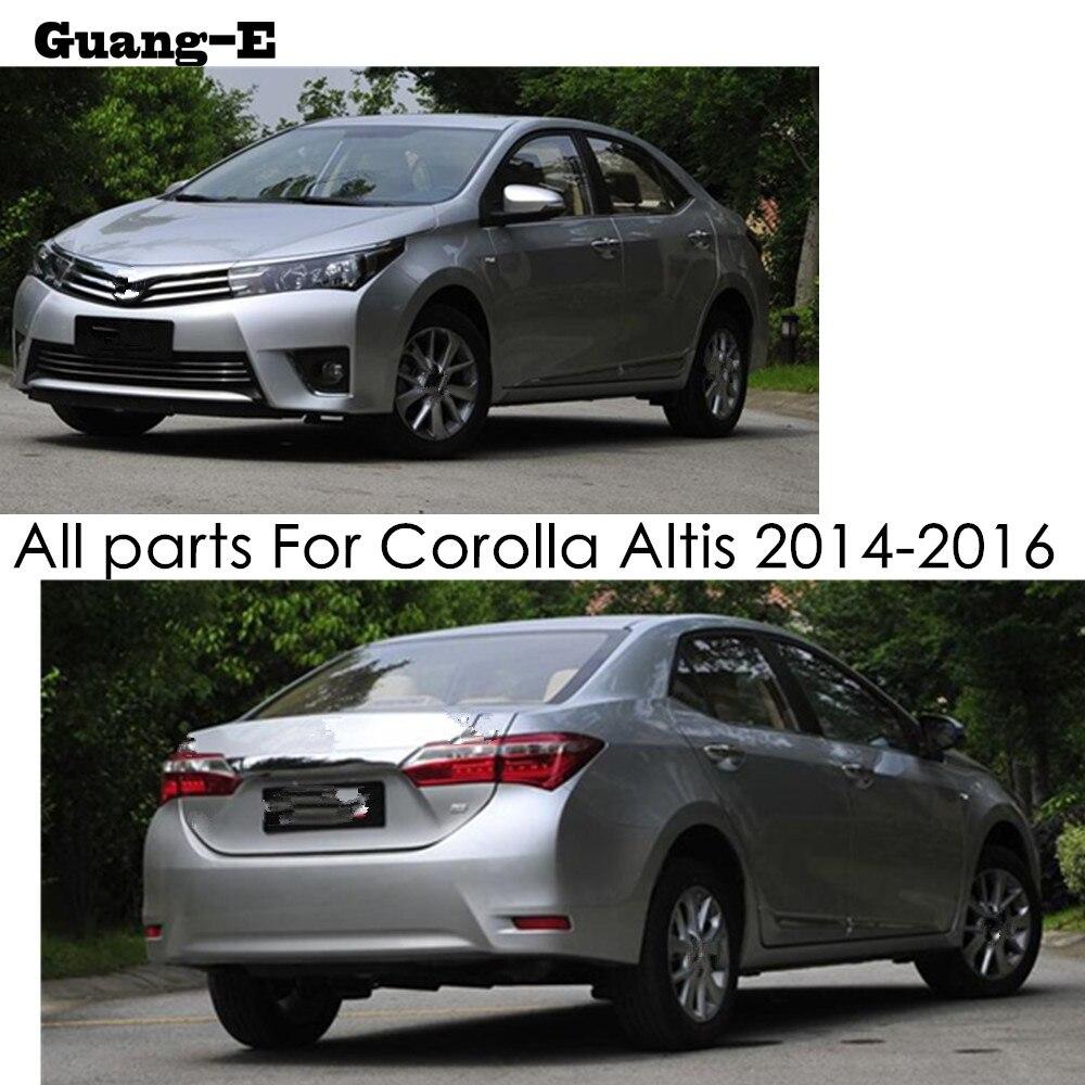 GENUINE TOYOTA CAR ACCESSORIES COROLLA ALTIS 2014-2016 CHROME FRAME FOR FOG LAMP